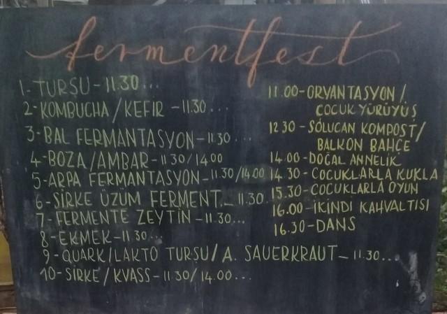 Çoluklu Çocuklu Bir Festival Ferment Fest